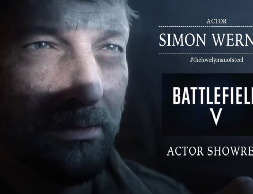 "In 2019 Simon was filming for the well known computer game ""BATTLEFIELD V""."