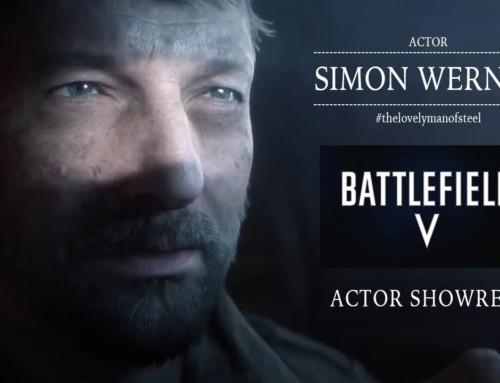 """2019 stand Simon Werner für das Computerspiel """"BATTLEFIELD V"""" vor der Kamera."""